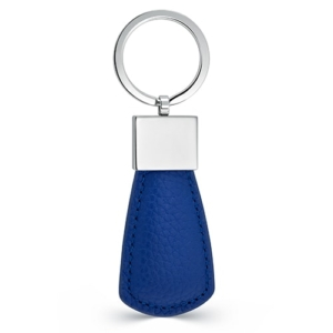 Blue Circle Key Fob