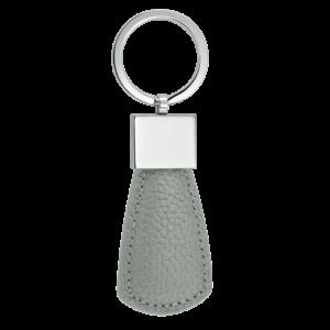 Grey Circle Key Fob