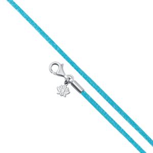 Turquoise satin bracelet