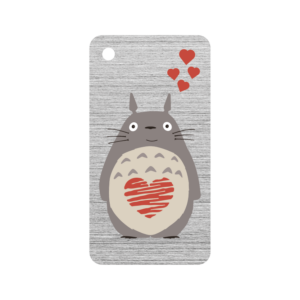 Bunny With Heart Key Fob